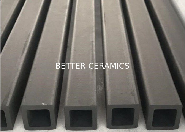 Reaction Sintering Silicon Carbide Ceramic Beam Rbsic Square Tube 1380C